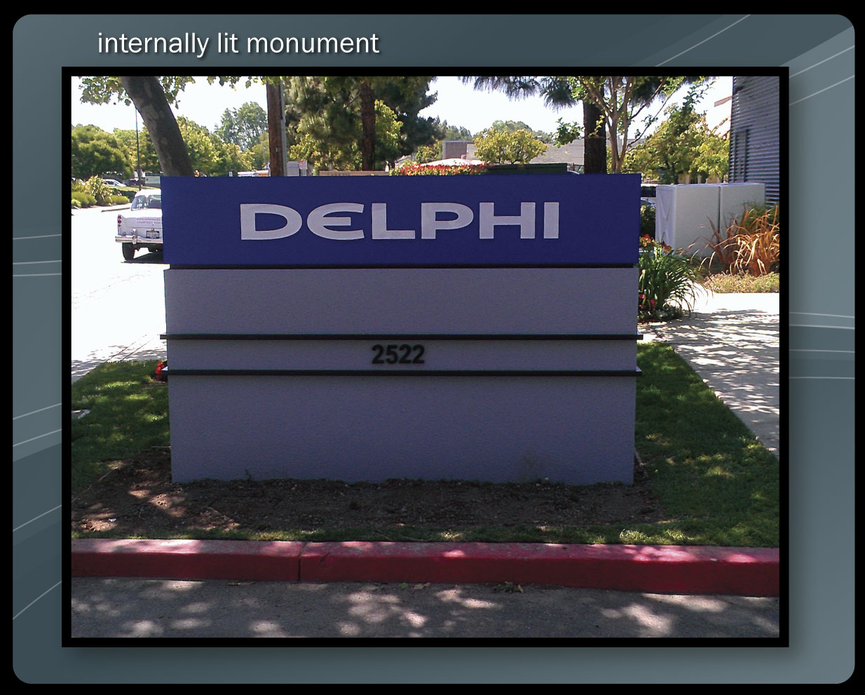 Internally Lit Monument