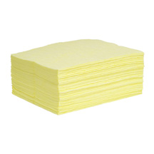 A01AE119 Yellow HazMat DEFENDER SonicBonded Pad-Single Weight