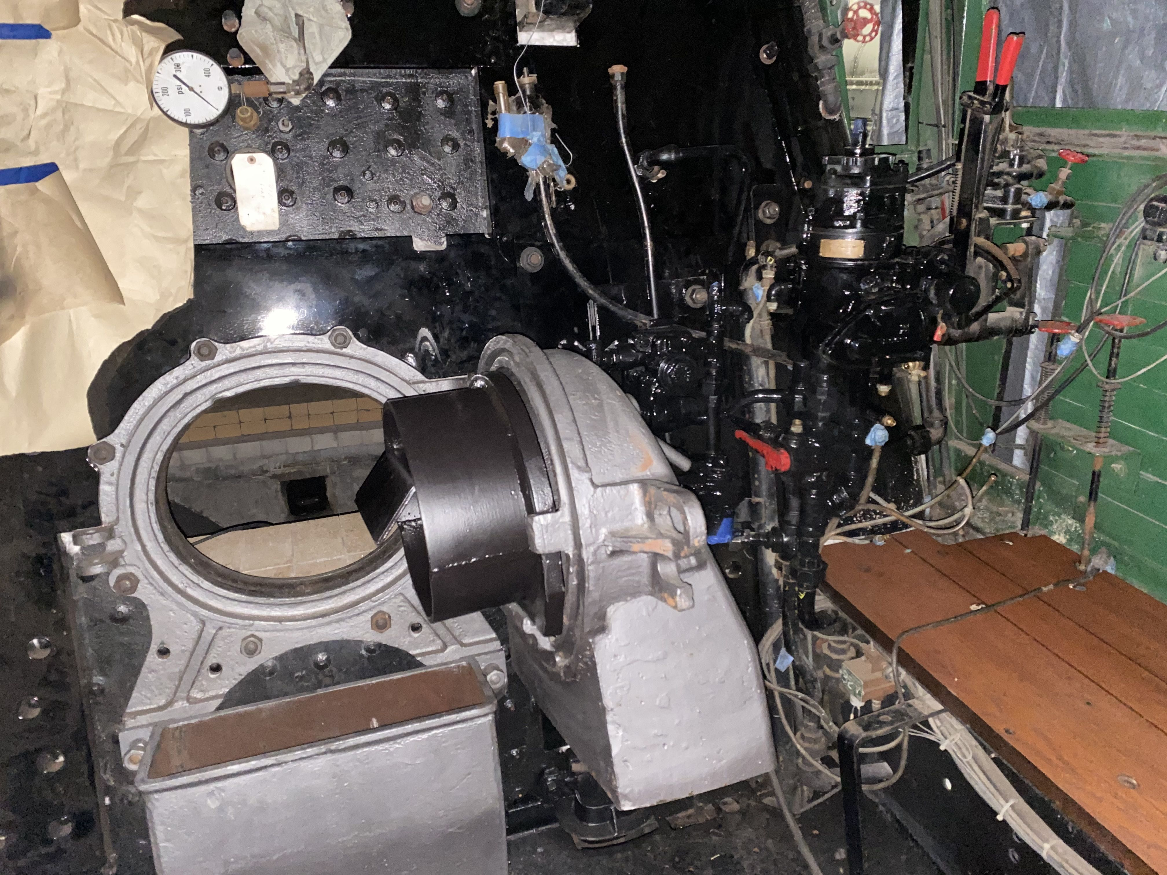 Firebox and Brakestand Reinstalled