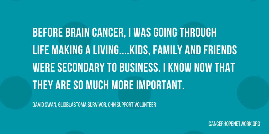 Meet David: Glioblastoma Survivor