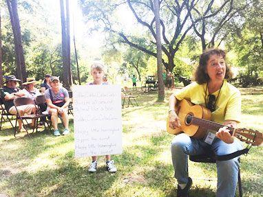 Educators at Hummingbird Festival