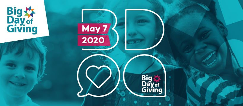 Big Day of Giving 2020 is coming!