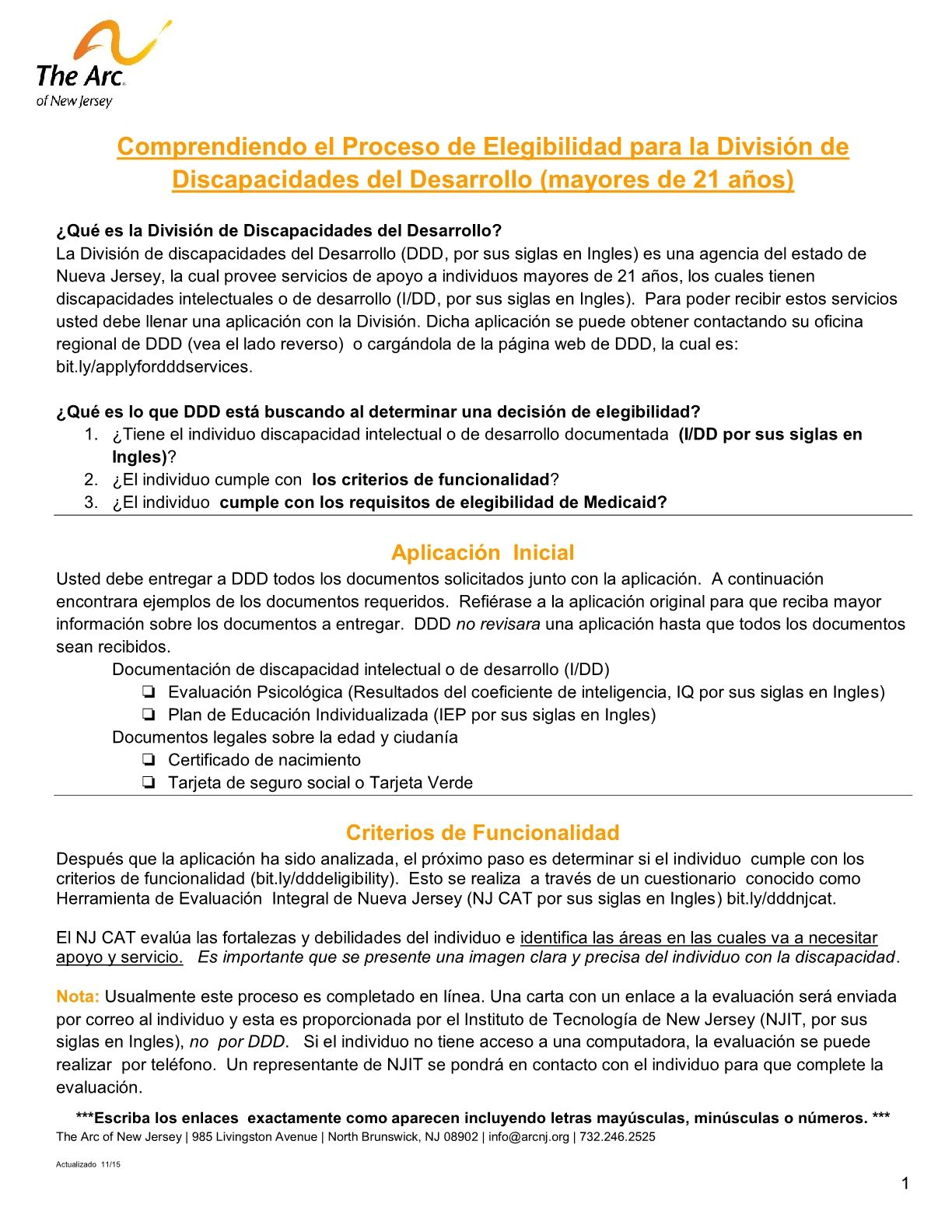 Understanding DDD's Determination of Eligibility Process - Spanish
