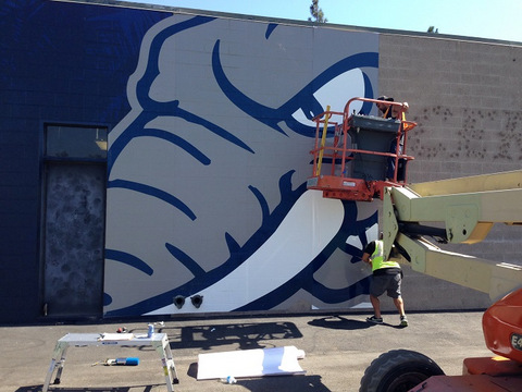 How are vinyl wall wraps made in Orange County