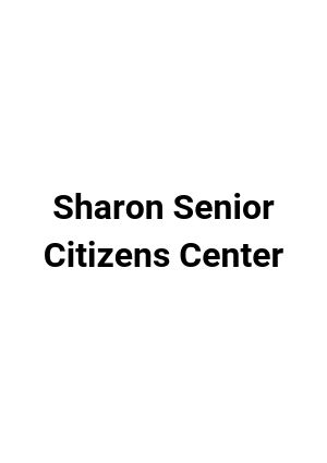 Sharon Senior Center