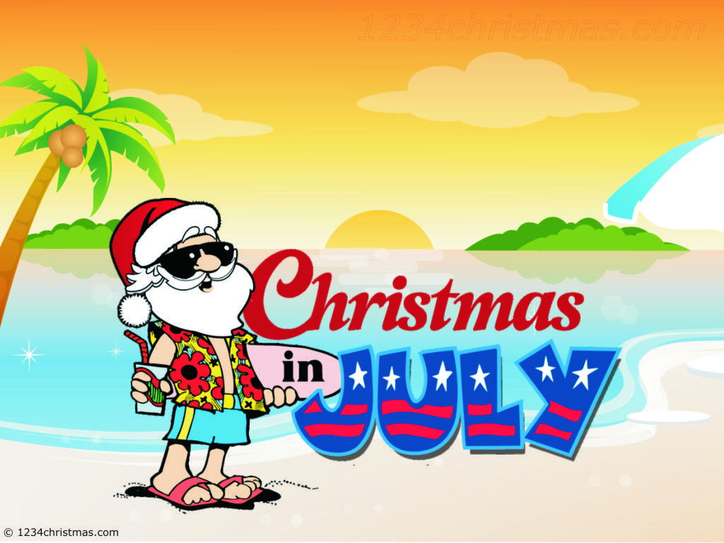 Merry Christmas in July!!