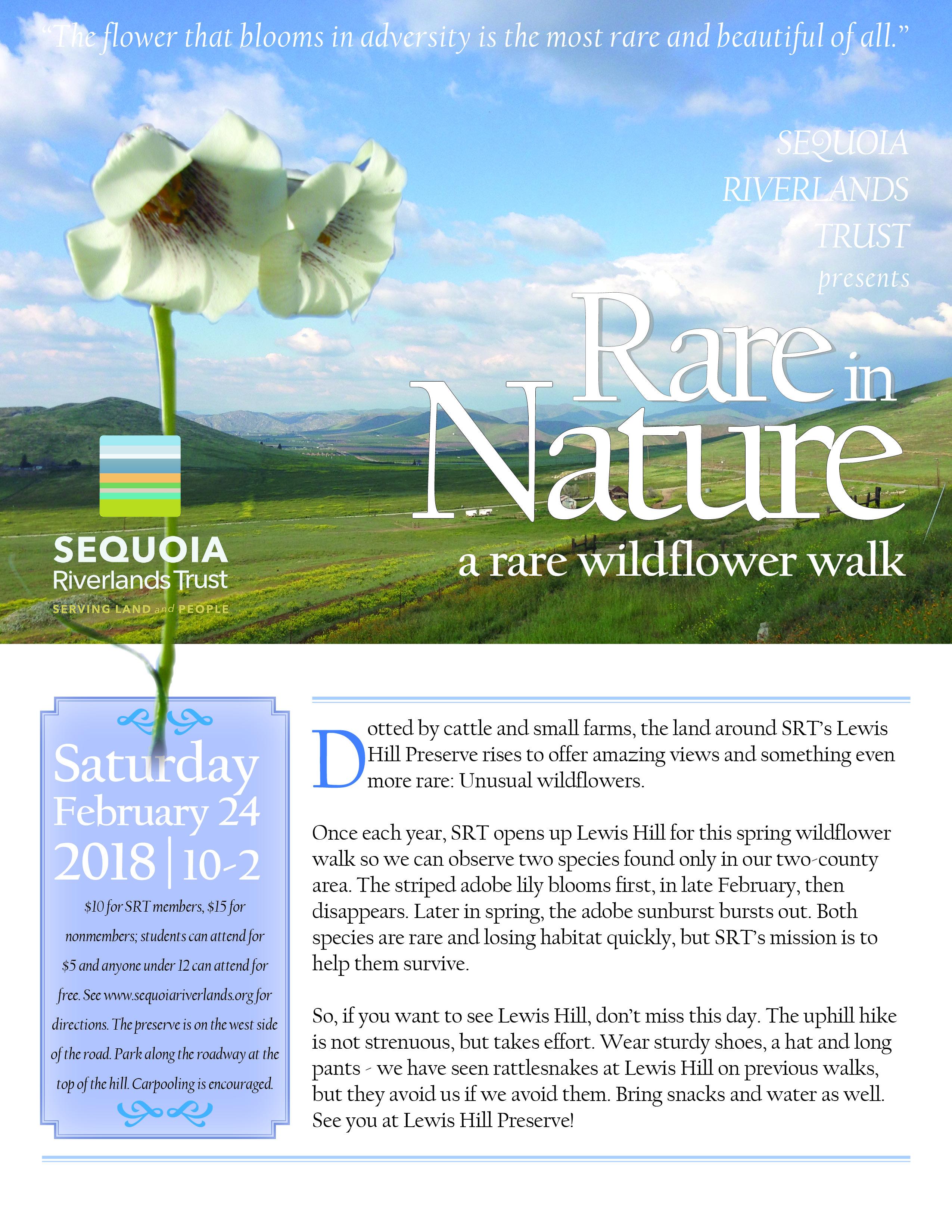 Annual walk at Lewis Hill Preserve returns Feb. 24