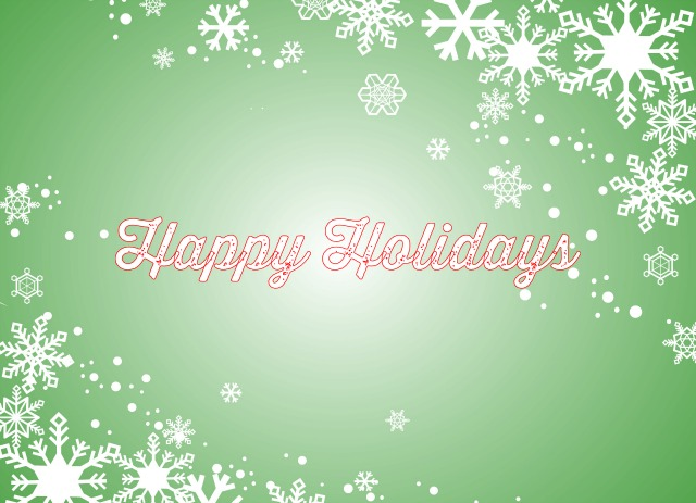 Holiday Card Template C (Back)