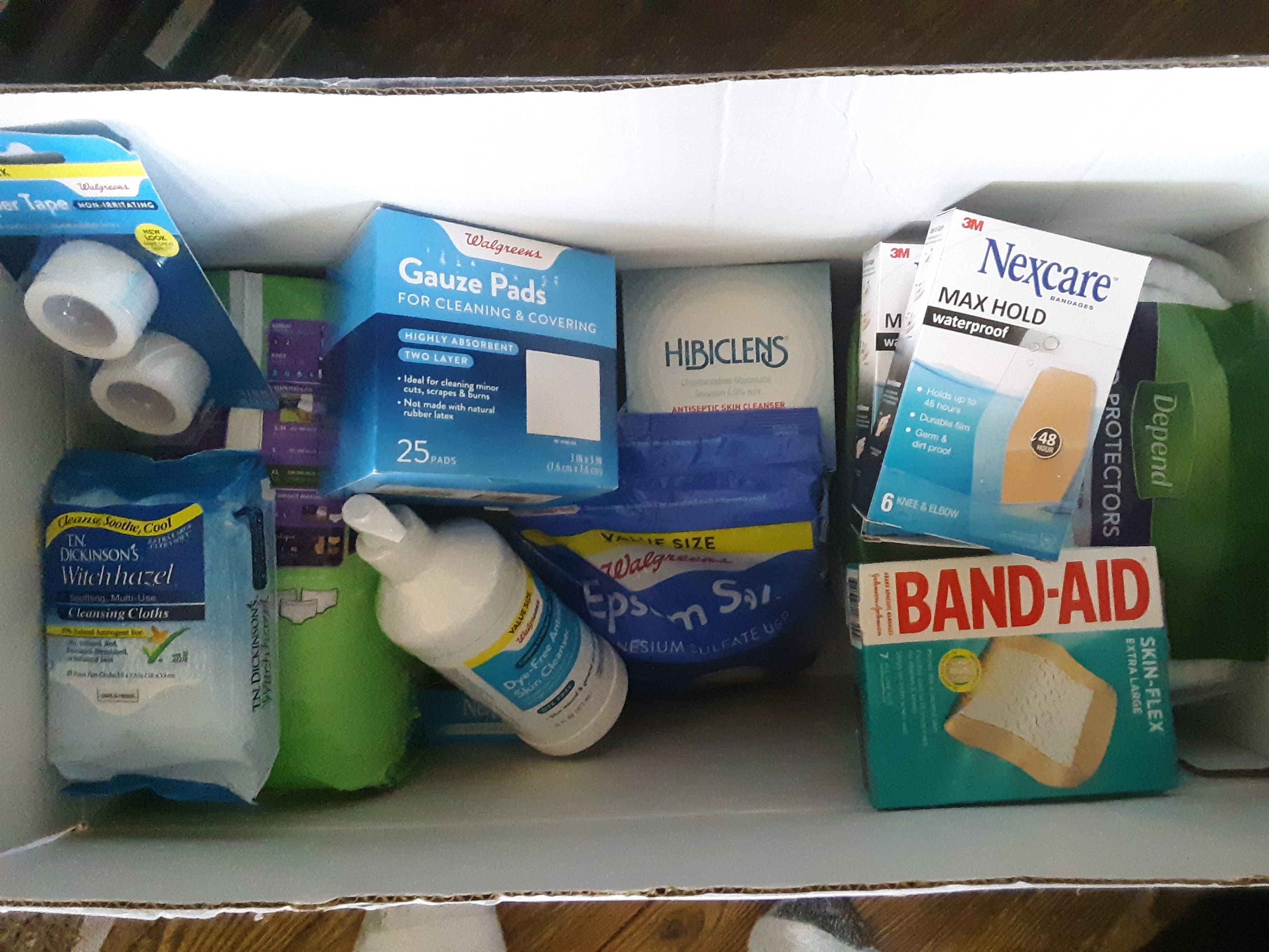Colleen Sverha is March's Medical Supplies Care Package Winner