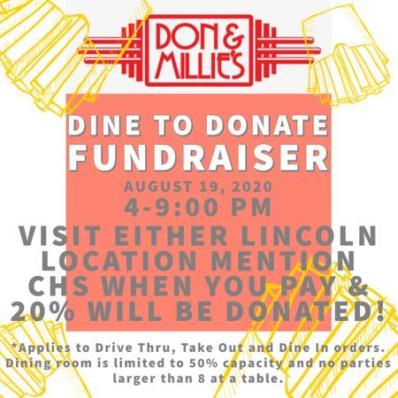 Don & Millie's Dine to Donate