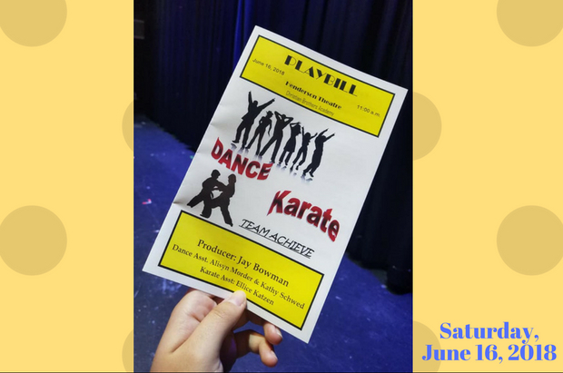 Dance & Karate Show June 2018