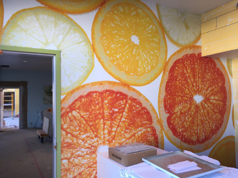 Wall Wraps for Eateries in Orange County CA