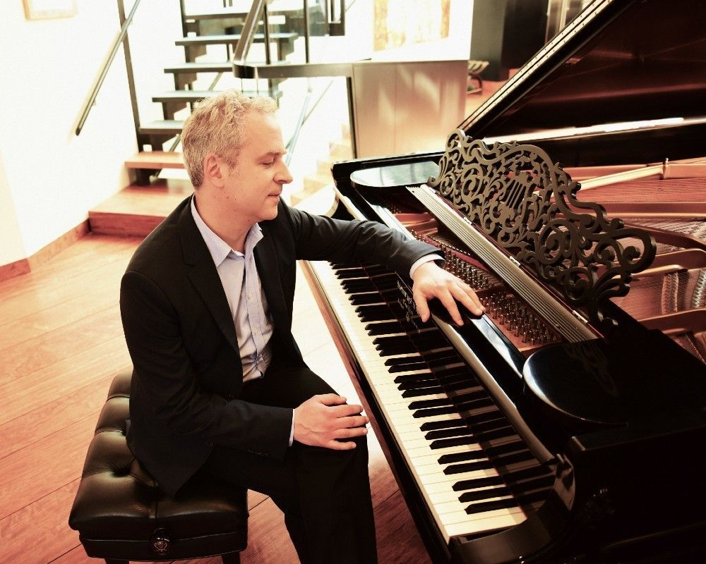 Jeremy Denk gives live streamed recital at Irvine Barclay Theatre