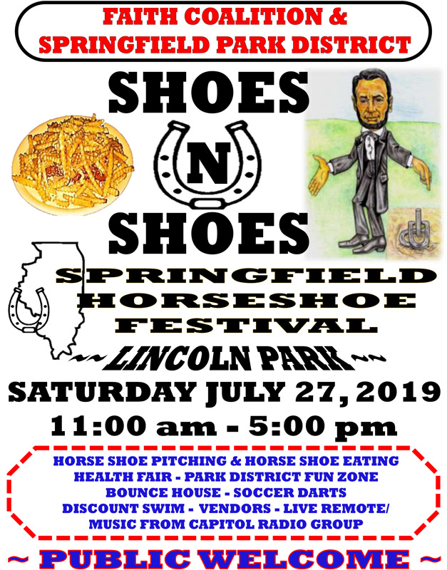 """First Springfield Horseshoe Festival – """"Shoes and Shoes"""""""