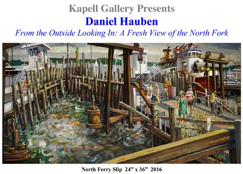 Special Art Show at the Kapell Gallery Featuring Bronx, NY Artist Daniel Hauben (posted August 2, 2016)