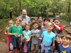 Inaugural Spring Break Camp at Edith Moore Sanctuary