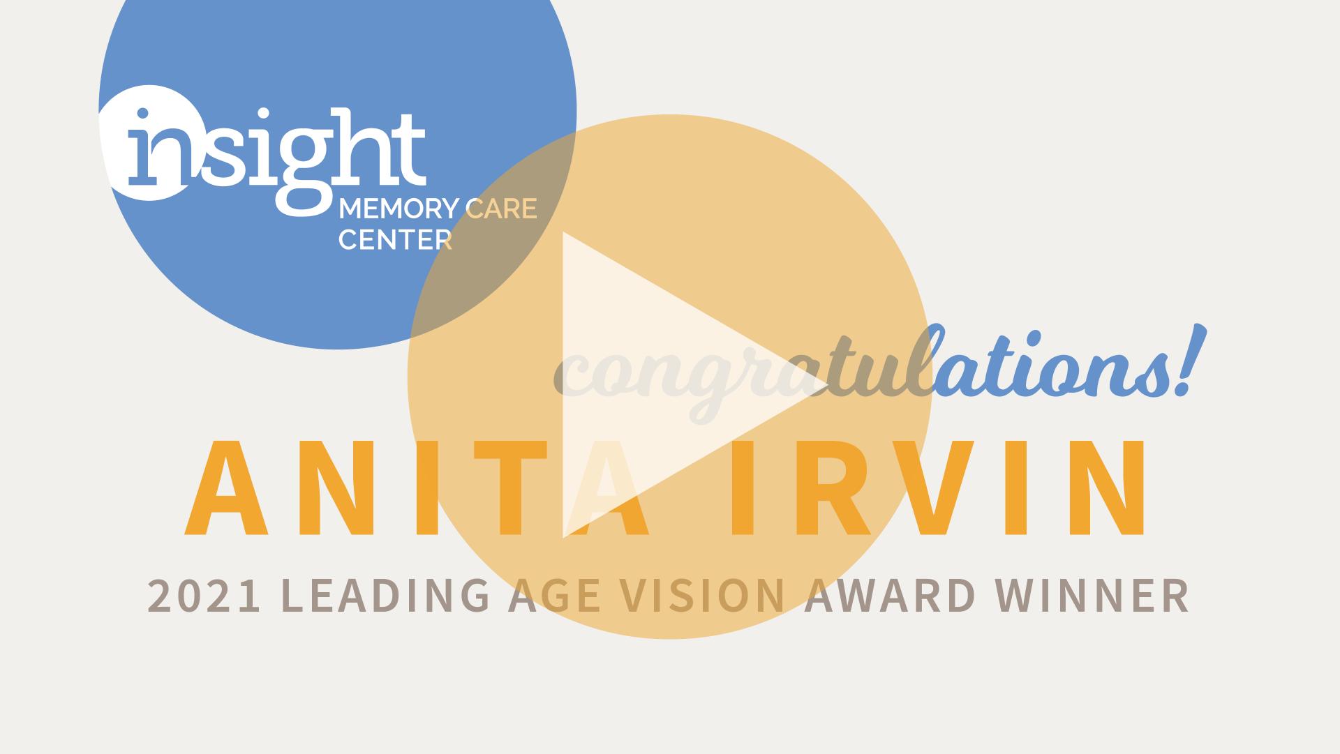Leading Age Virginia Vision Award Presentation