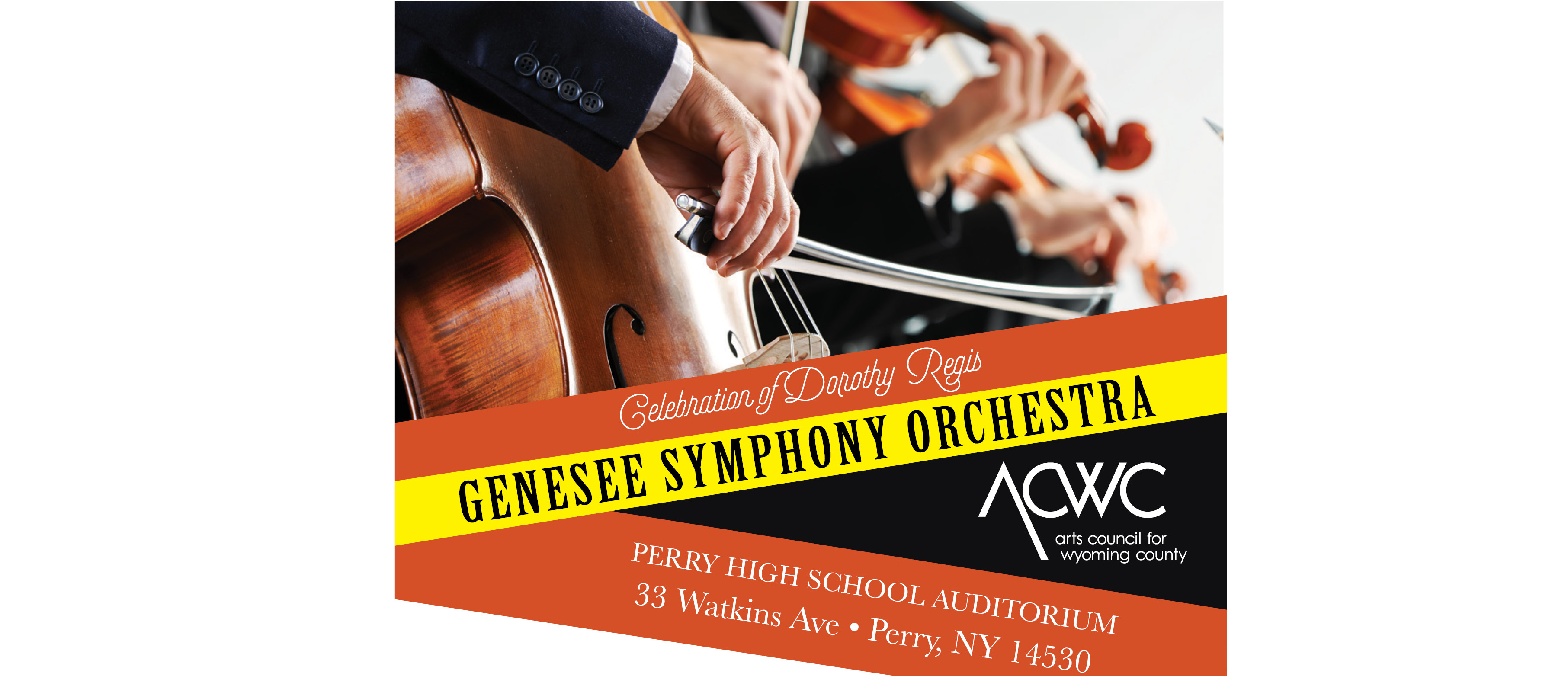 ACWC presents the Genesee Symphony Orchestra