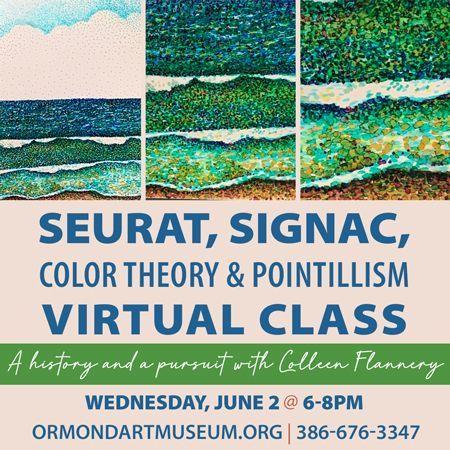 Registration Deadline for Seurat, Signac, Color Theory & Pointillism Virtual Class