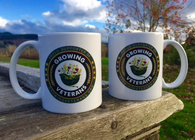 Growing Veterans Logo Mug - SOLD OUT
