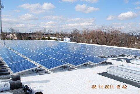 Solar Panels at Astro-Dynamic