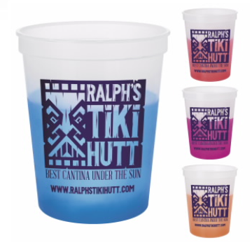 Color Changing Stadium Cup - 16 oz