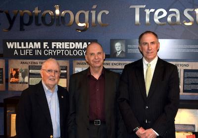 David Hamer, Dr. Andrew Hodges, and Pat Weadon at the NCM