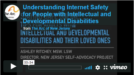 Understanding Internet Safety for People with Intellectual and Developmental Disabilities