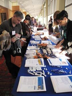 Participants during the Financial Expo