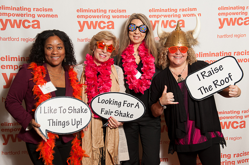 2017 In the Company of Women luncheon Photo Booth