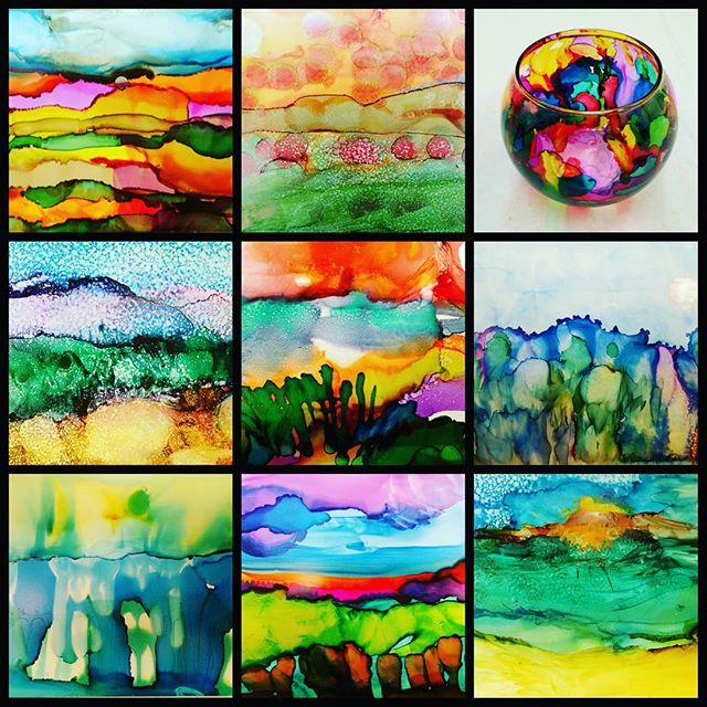 Intro to Alcohol Ink Workshop