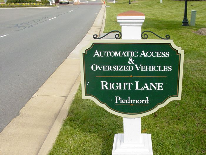 Piedmont Community Sign
