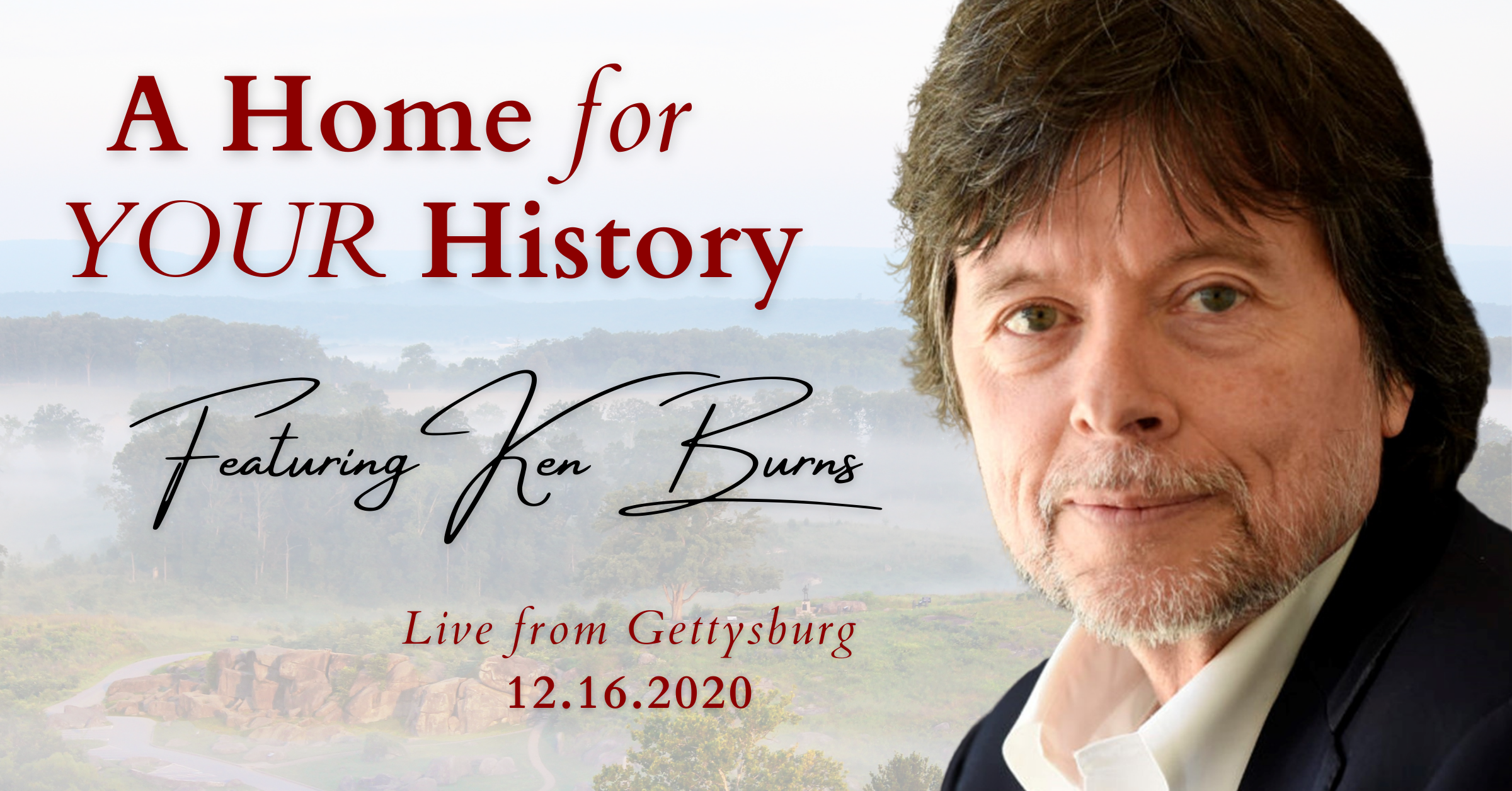 An Exclusive Announcement from Gettysburg