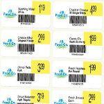 Shelf Marking Labels