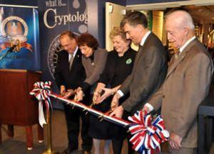 60th Anniversary Exhibit Ribbon Cutting