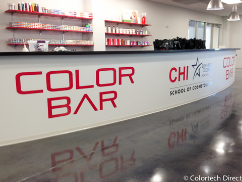 CHI Color Bar Counter