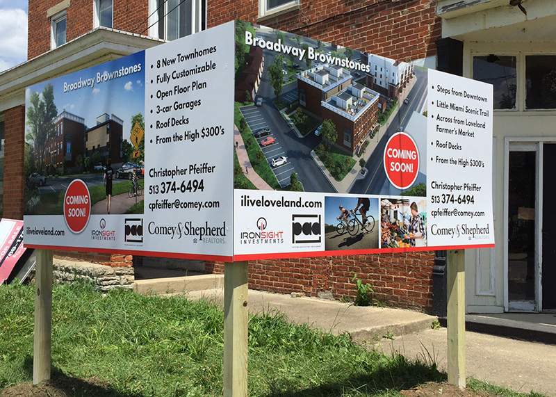 Real Estate Signs Cincinnati Ohio Graphics Amp Printing