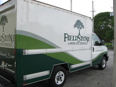 Partial Wrap Box Truck