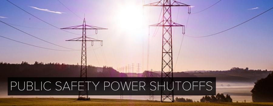 Electricity Utility Power Shutoffs Information