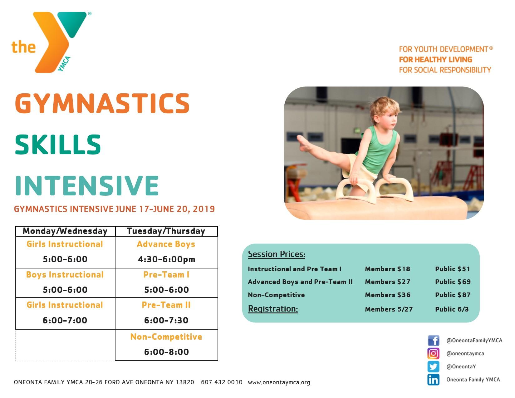 Gymnastics Skills Intensive
