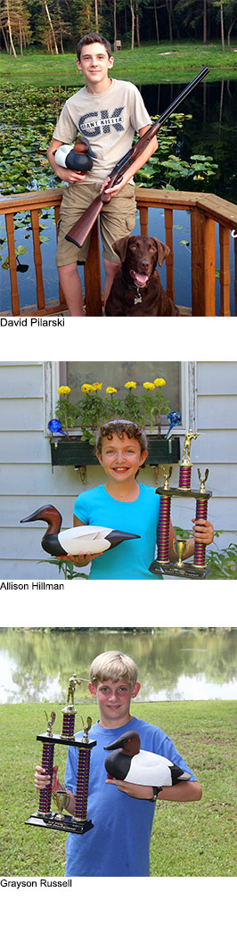 Michigan Teen Wins Youth Decoy Carving Contest