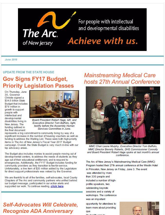 July E-Newsletter