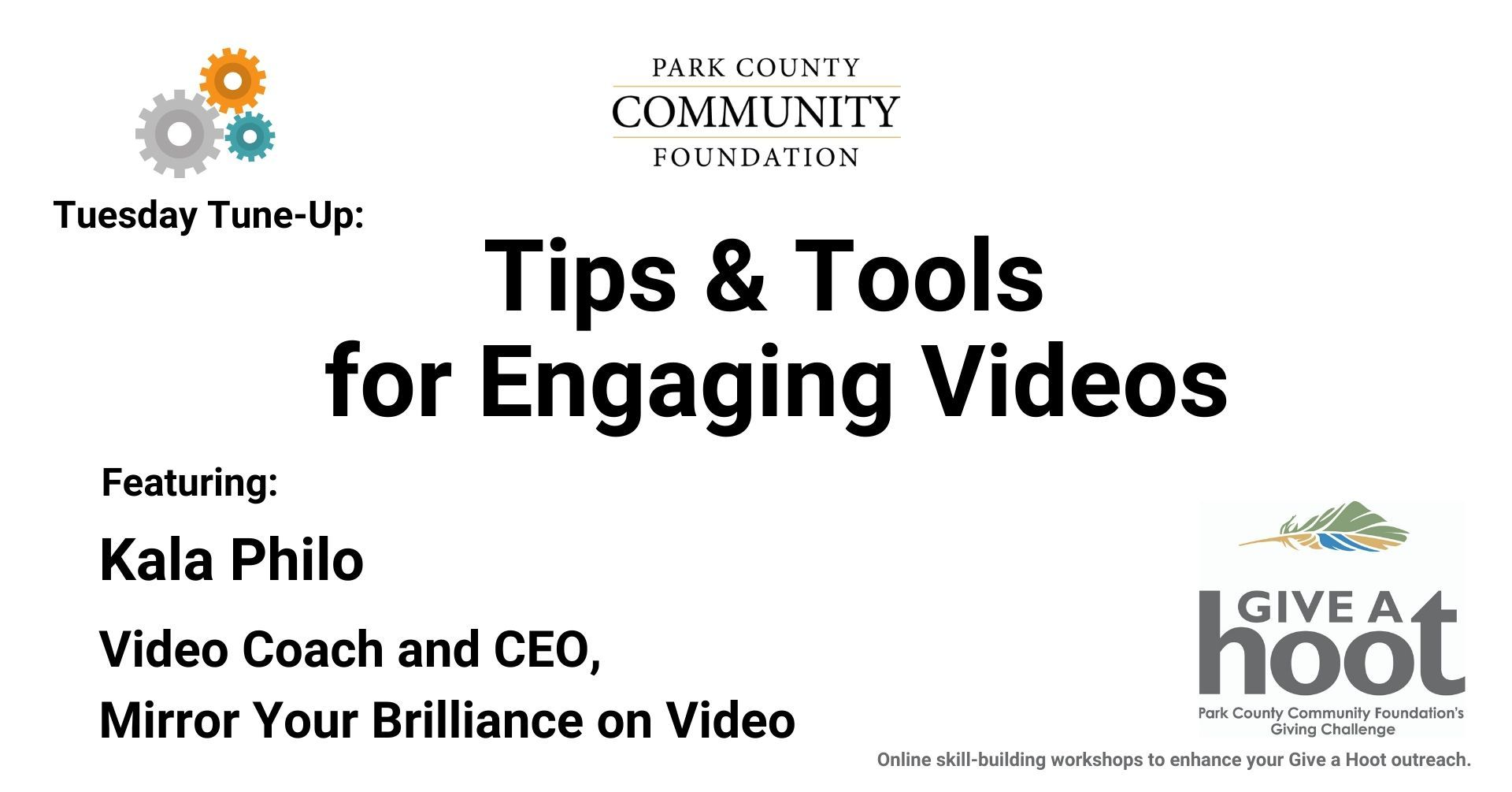 Tips & Tools for Engaging Videos