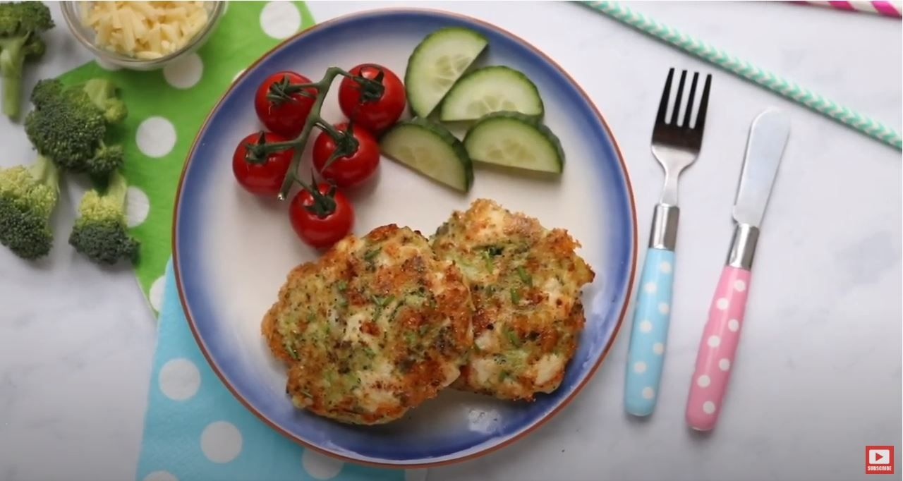 Chicken & Broccoli Fritters