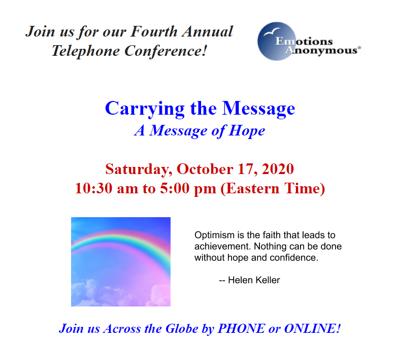 EA's 4th Annual Telephone Conference
