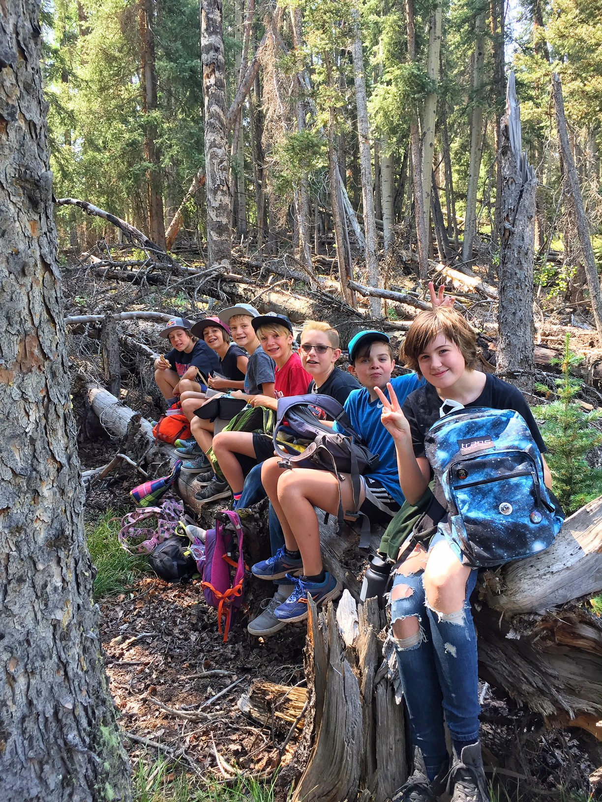 Hike and Hot Springs in Ouray