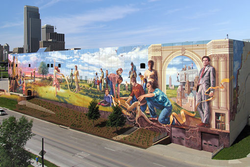 Omaha Mural Project: Fertile Ground