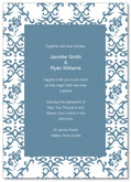 Brocade wedding invitation | Kwik Kopy Design and Print Centre Halifax