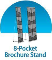 8-Pocket Brochure Stand