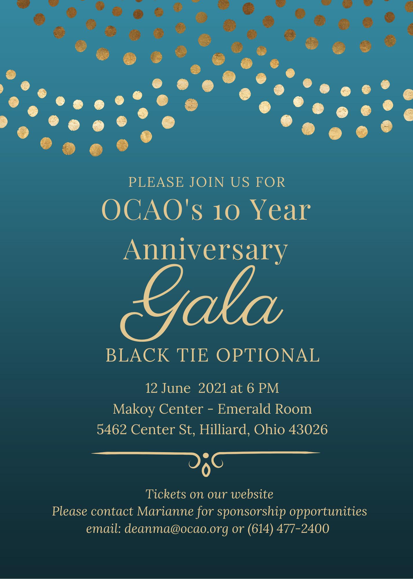 OCAO 10th Anniversary Gala